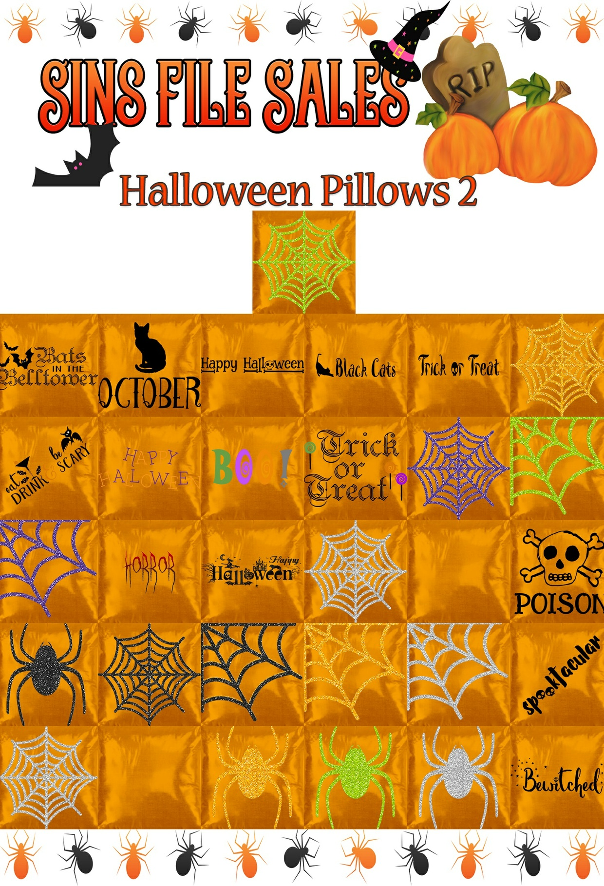 Halloween Pillows 2