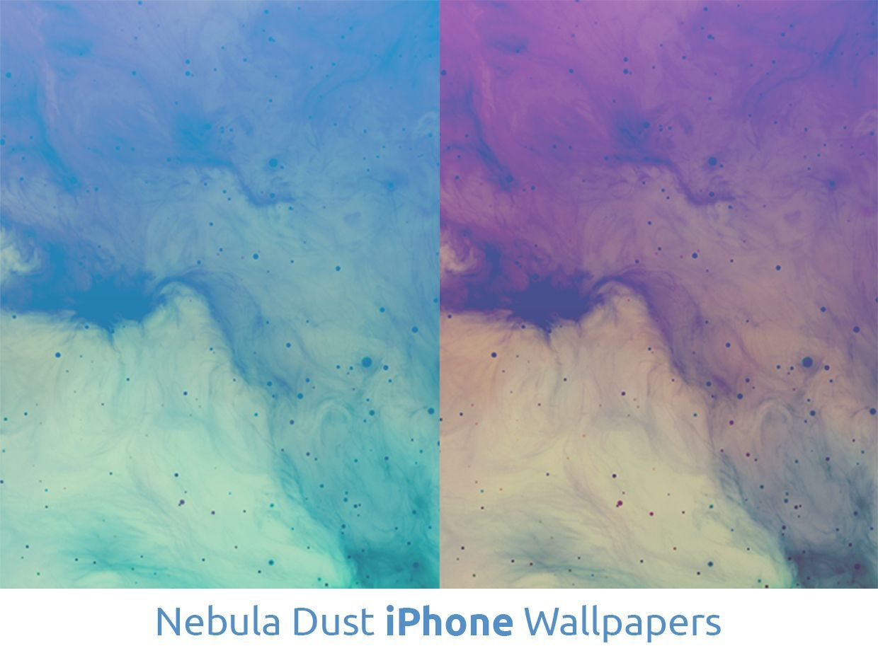 Nebula Dust iPhone Wallpapers