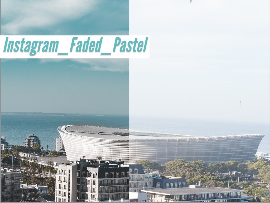 'Instagram_Faded_Pastel' Simple installation and one click to apply.