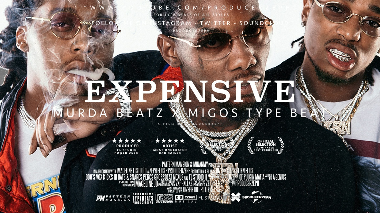 Murda Beats x Migos Type Beat - Expensive