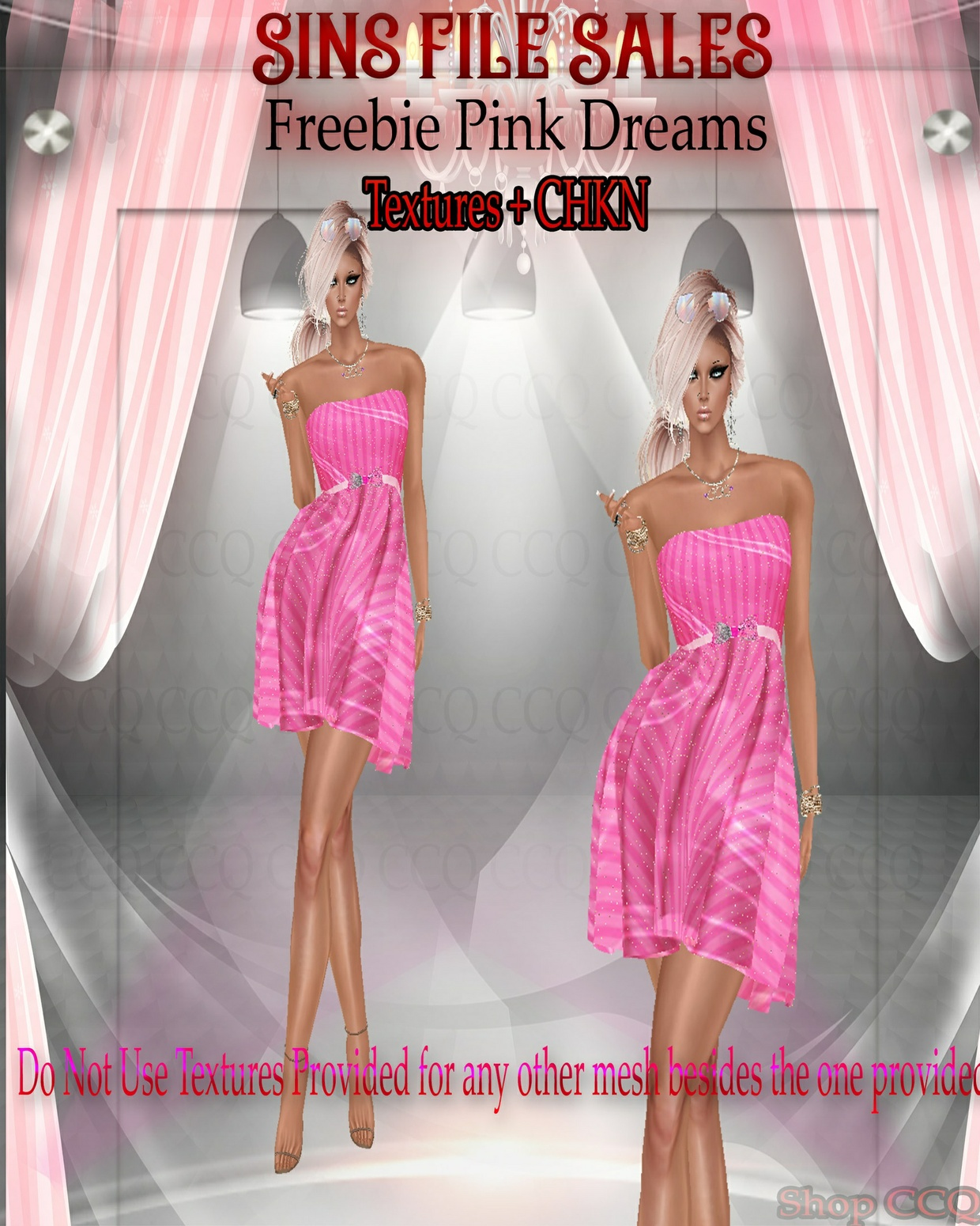 ♥Freebie Pink Dreams*CKHN