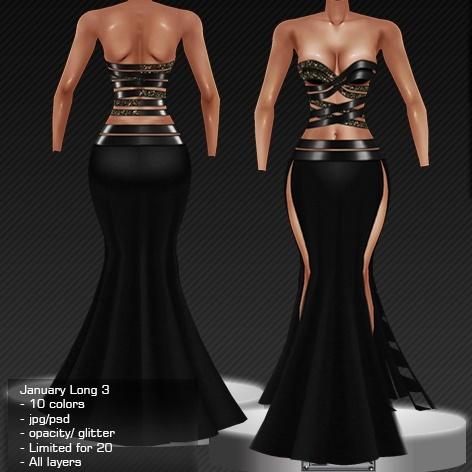 2014 Jan Long Dress # 3