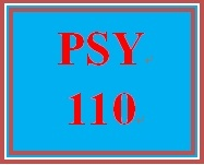 PSY 110 Week 2 Learning Style Reflection