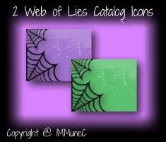 2 Web of Lies Catalog Icons