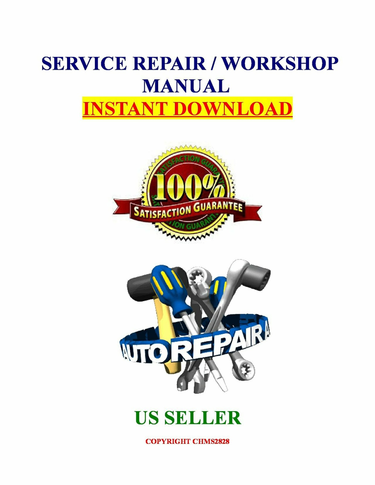 2001 Polaris Magnum 500 325 2X4 4X4 ATV Service Repair Manual