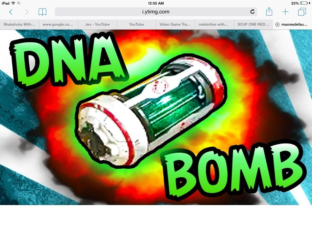 DNa bomb from advaned warfare