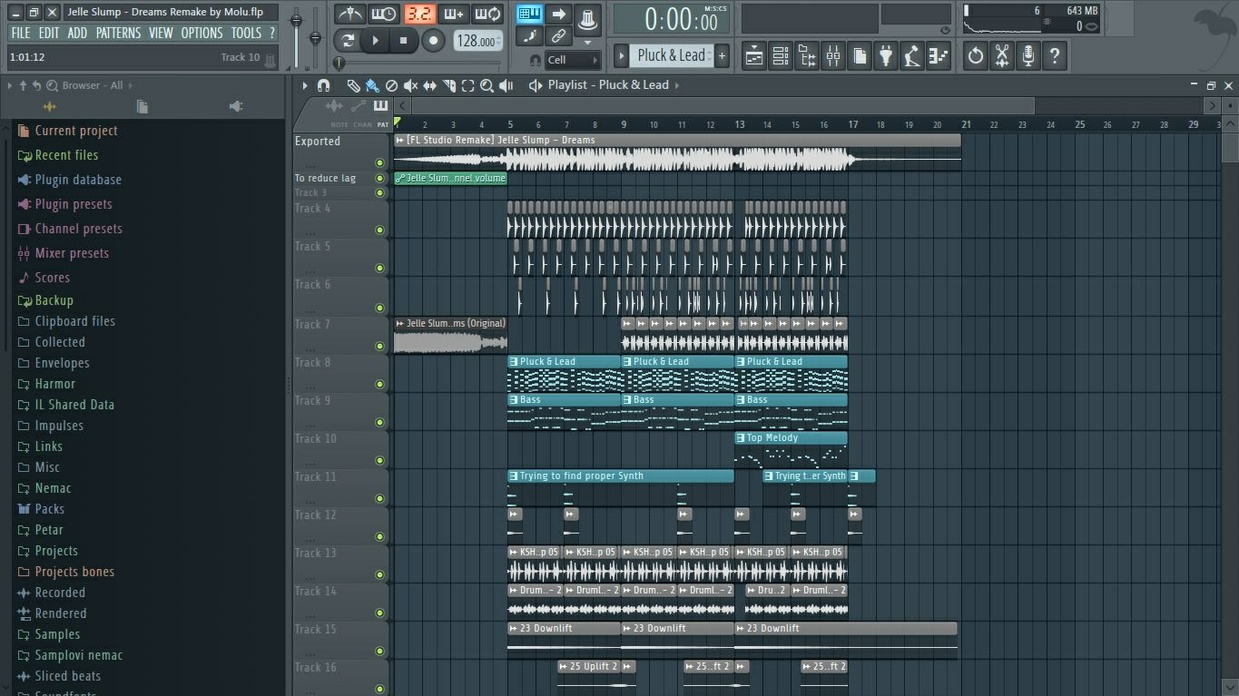 [FL Studio Remake] Jelle Slump - Dreams (+FLP)