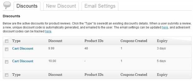 WooCommerce Review for Discount 1.6.4 Extension