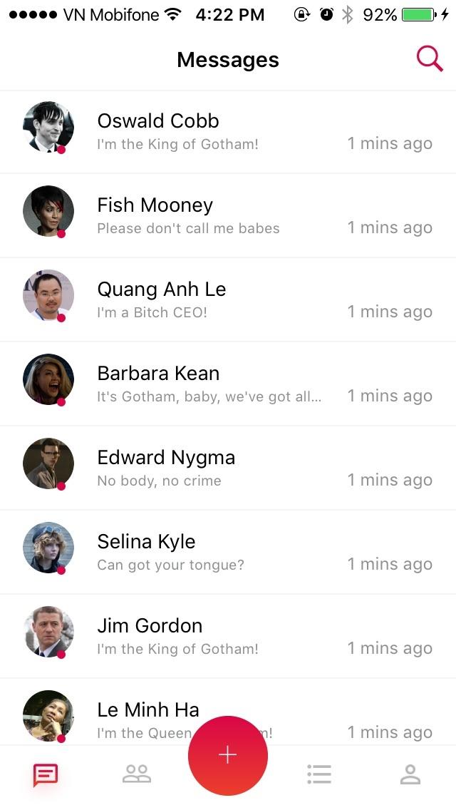 ionFullApp Social 9Chat HeyU - Firebase PRO