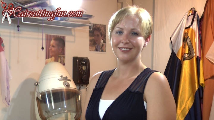 Betsy Moes Asymmetrical Bob Haircut - VOD Digital Video on Demand