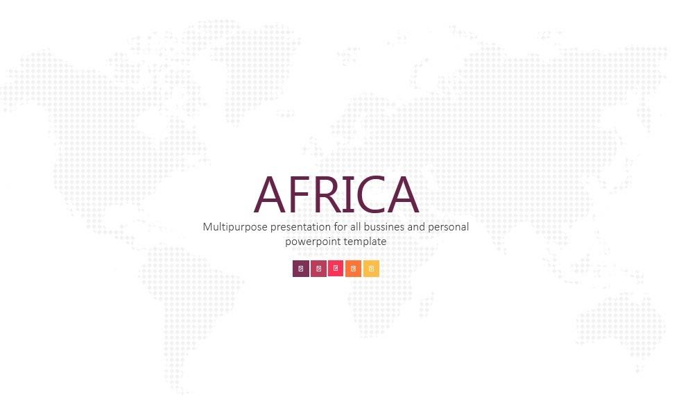 Africa Multi-Purpose PowerPoint presentation template