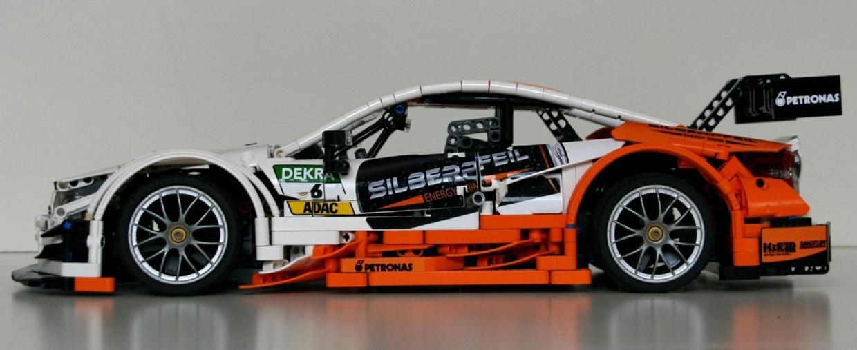 "Lego Technic MOC Mercedes-Benz AMG C63 DTM - bodywork ""Silberpfeil"""