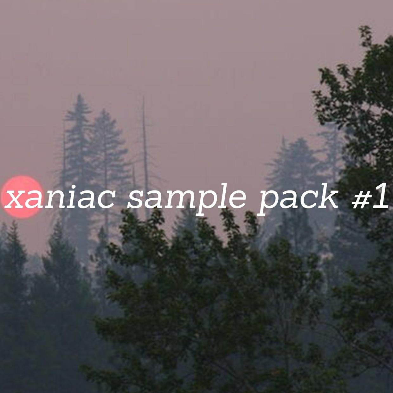 xaniac lofi sample pack #1