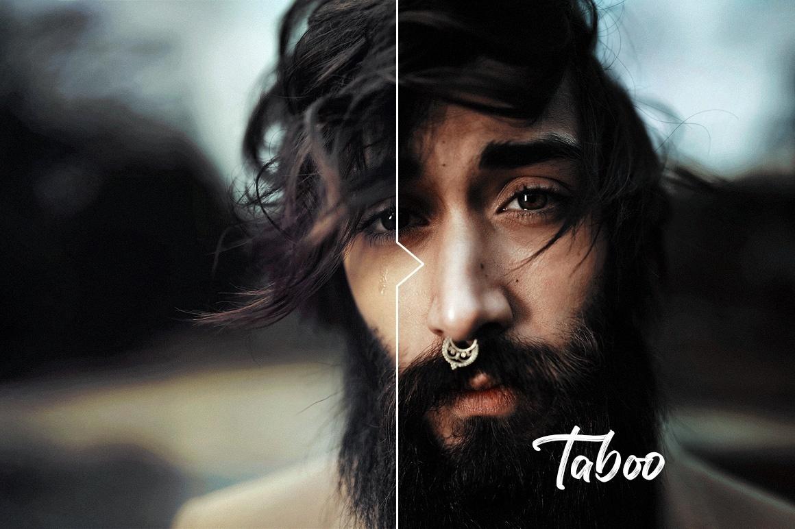 Taboo Dark & Eerie Photoshop Actions