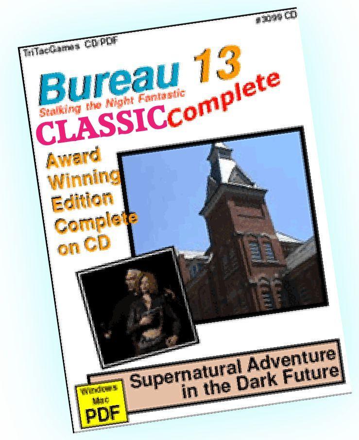 TTG#3099 Bureau 13 Classic Complete Collection