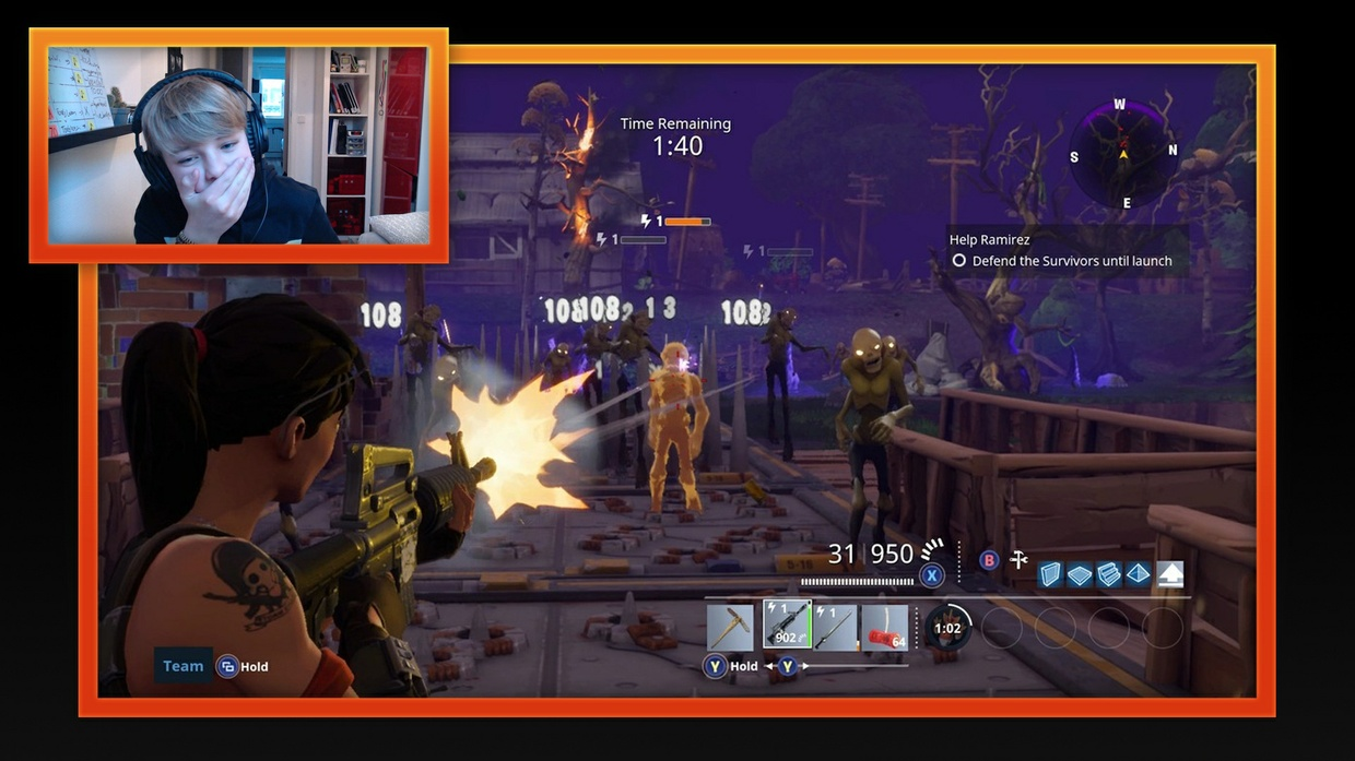 Stream Layout [5 schermen]