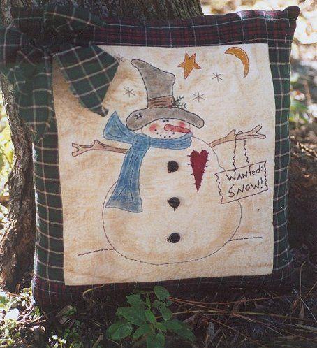 #308 Rusty Snowman e pattern