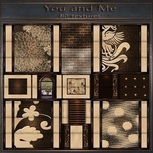 You & Me - 80 textures