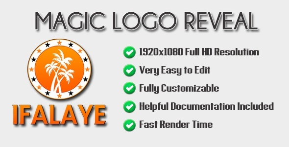 Magic Logo Reveal - After Effects Template