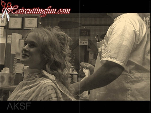 Natalie's Barbershop Face Shave and a Haircut - Digital Video Download VOD