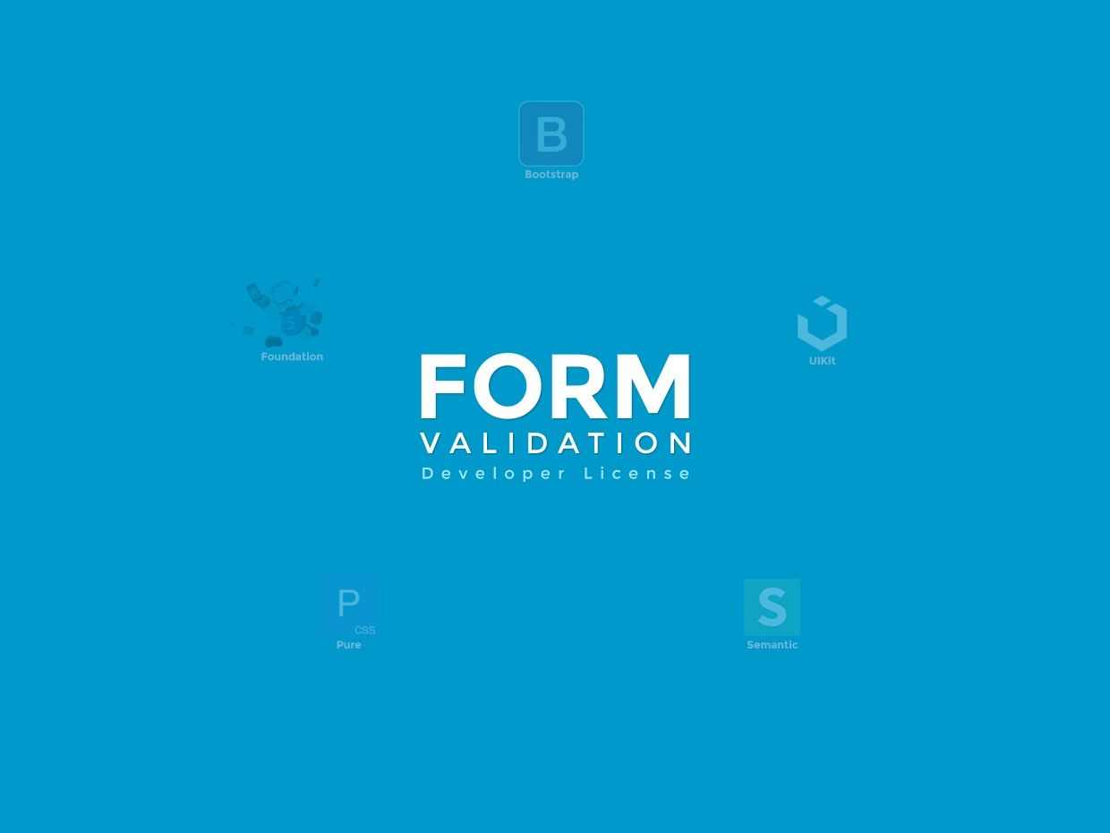 FormValidation Developer License (v0.8.1)