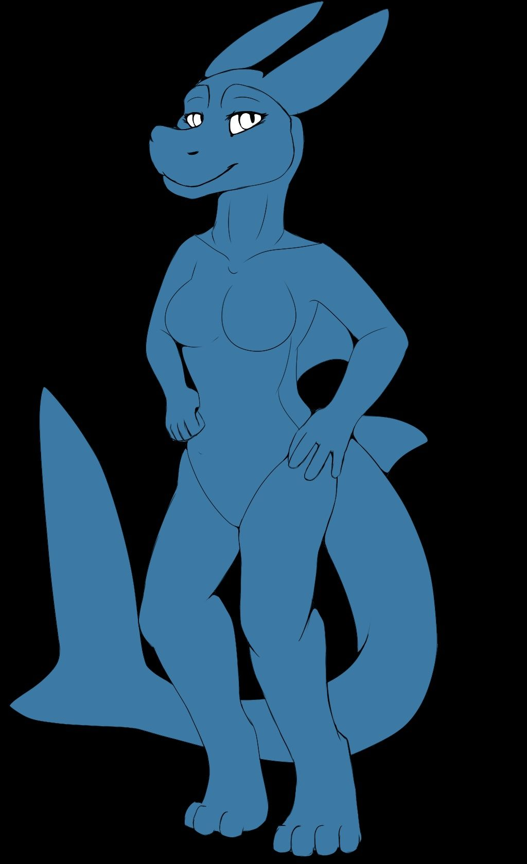 Female shark adopt base