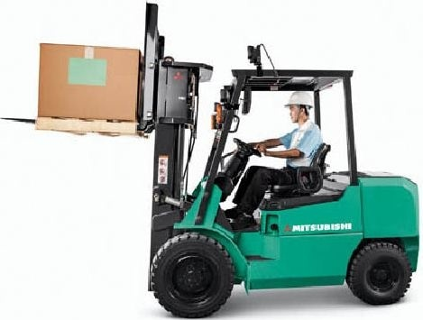 Mitsubishi Forklift Truck FD20HS, FD25HS, FD30HS, FG20S, FD25S, FG30S Operating Instructions