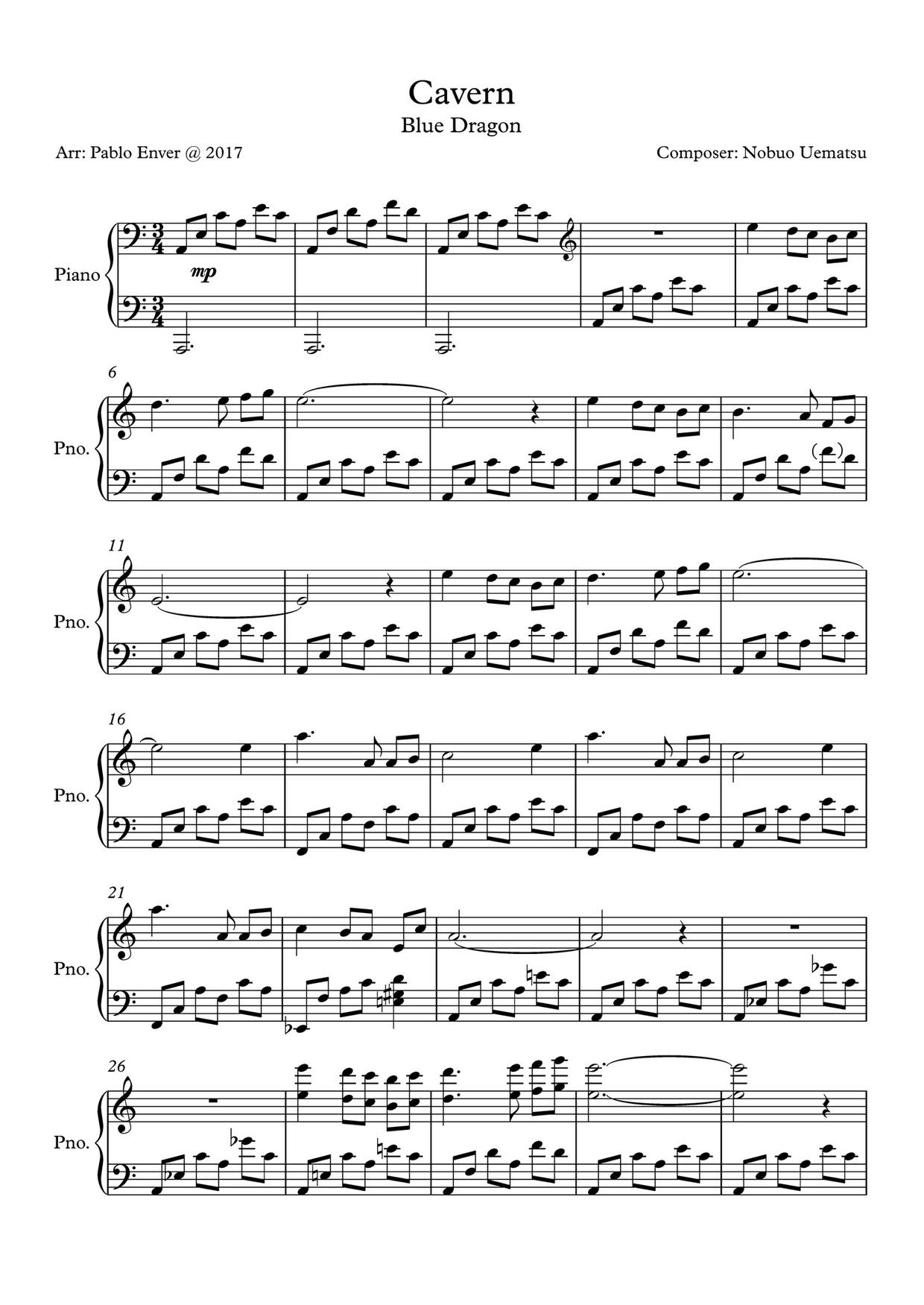 PIANO ARRANGEMENTS