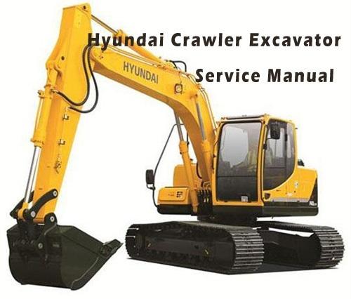 Hyundai R800LC-7 Crawler Excavator Service Repair Manual Download
