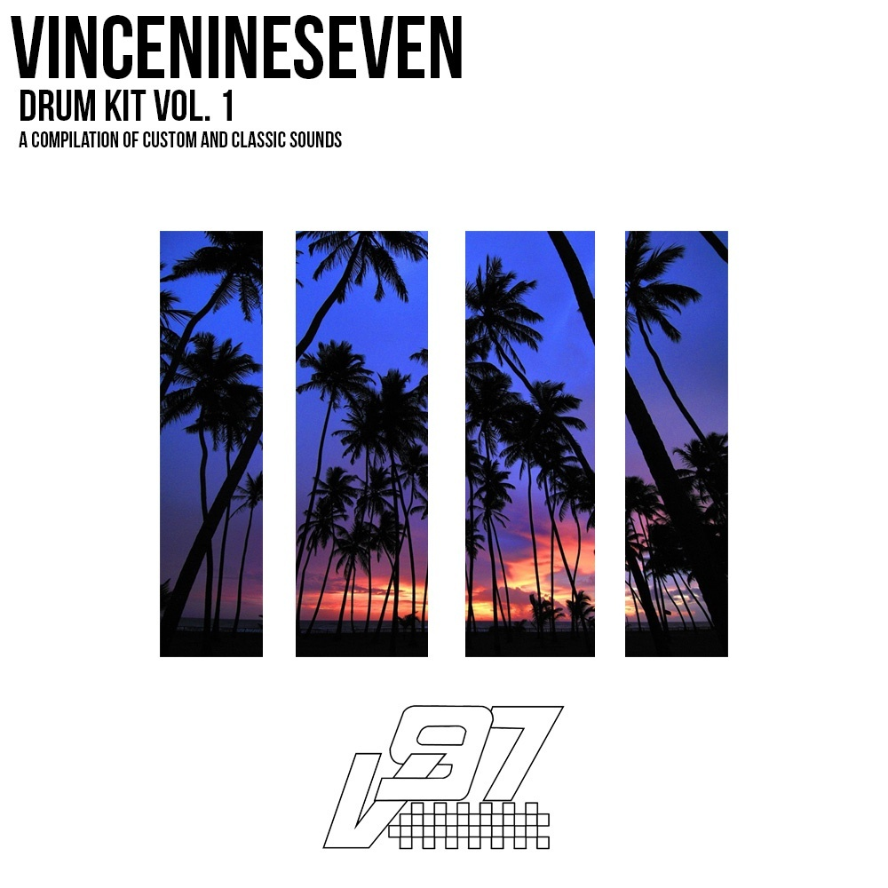 VinceNineSeven Drum Kit Vol. 1