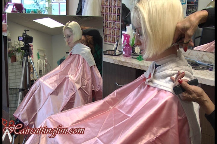 Nape Clippering Buzz of Kat by Carmen in Salon - VOD Digital Video on Demand