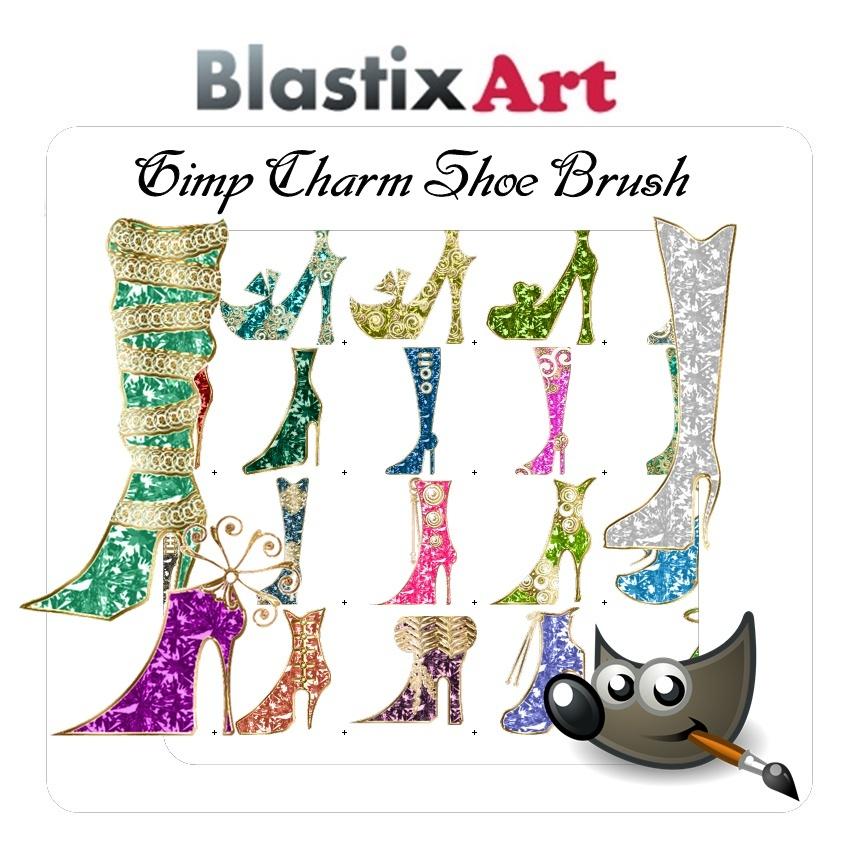 Shoe Charm Gim Brush