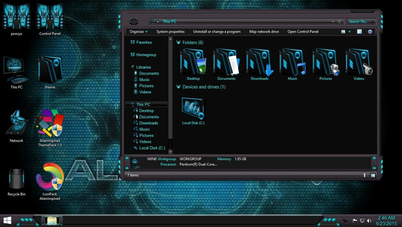 AlienInspired IconPack