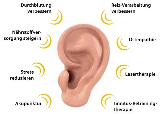 Tinnitus Behandlung Info
