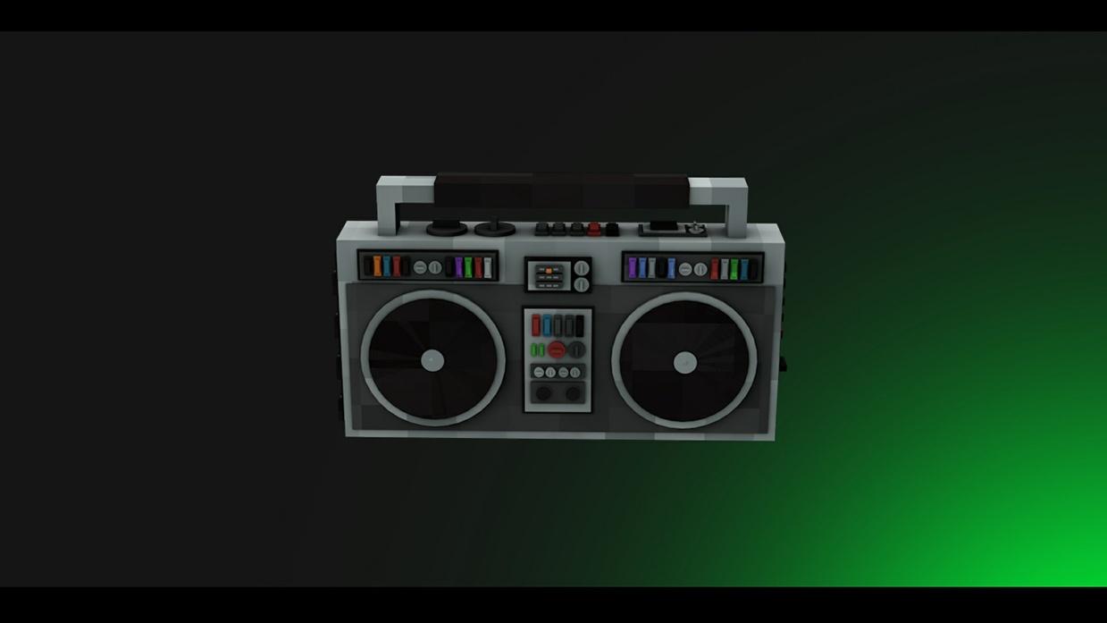 Minecraft - Rig Radio - [Cinema 4D]