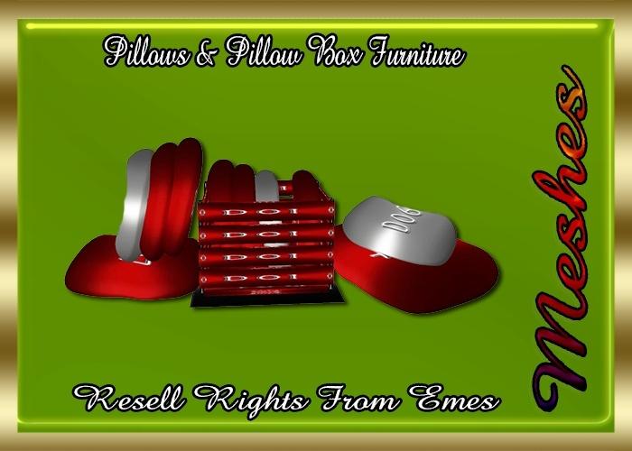 Pillows & Pillow Box Furniture Catty Only!!!
