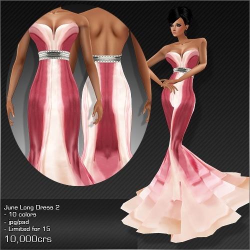 2013 Jun Long Dress # 2