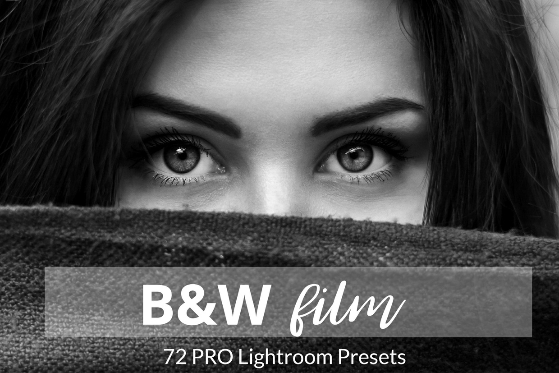 Black and White Film 72 Lightroom Preset