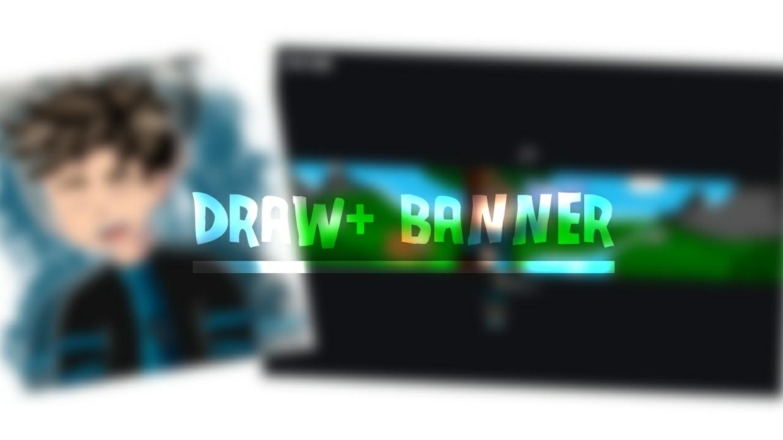 Draw+Banner Dibujado