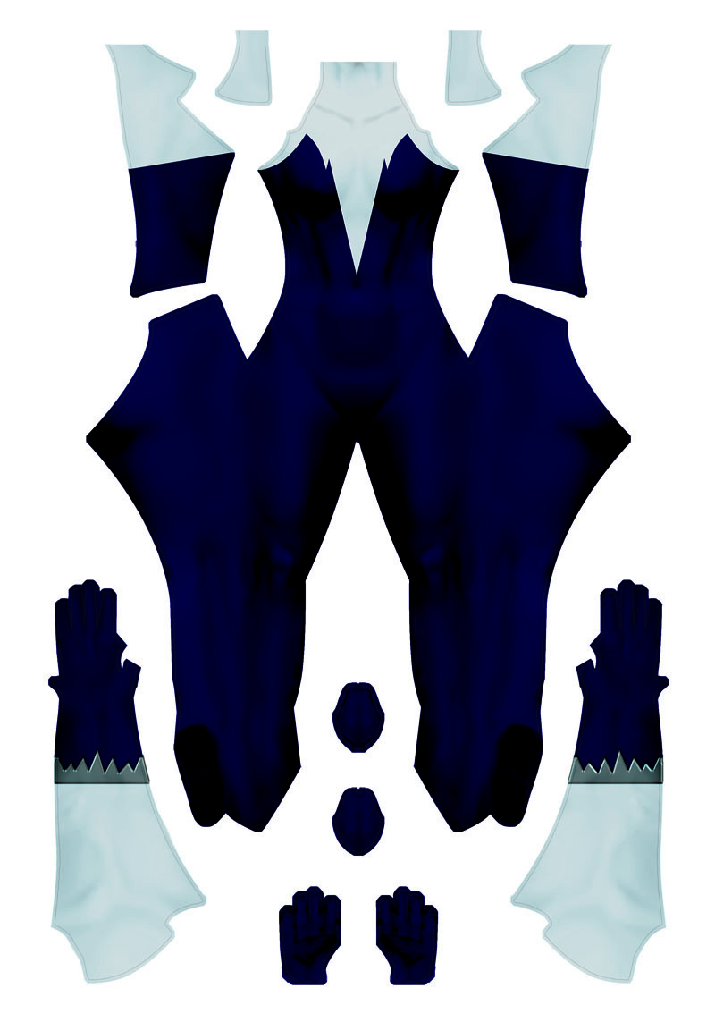 KILLER FROST Dye-Sub Pattern