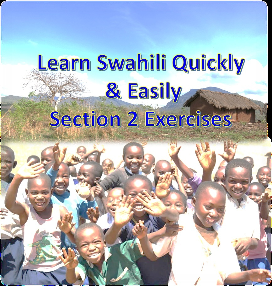 Learn Swahili Quickly & Easily Section 2 Exercises