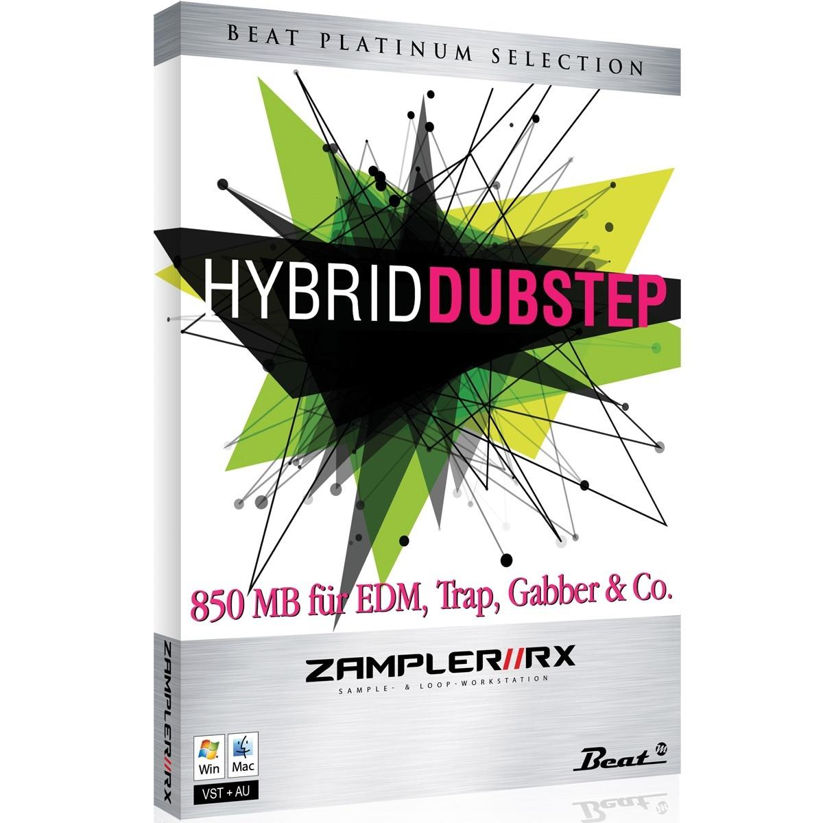 HYBRID DUBSTEP – Sound bank for Zampler//RX workstation (Win/OSX plugin included)