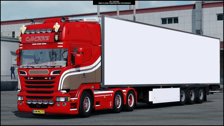 Custom Holland Trailer ETS 2
