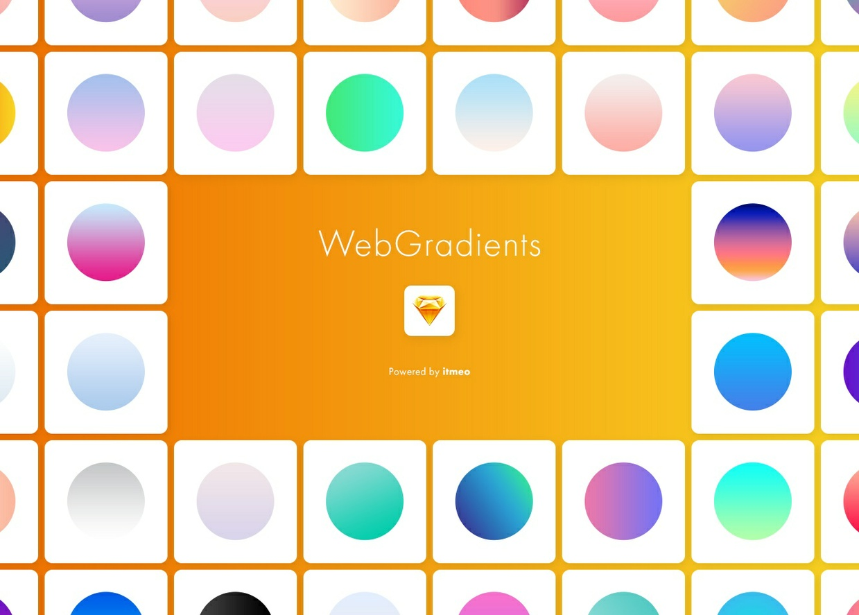 Web Gradients for Sketch