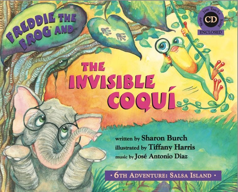 Book 6: Invisible Coqui PDF Slideshow (Audio Not included.)