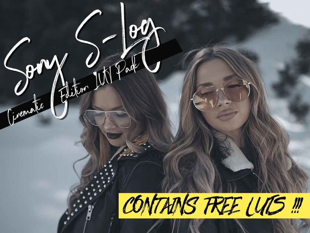 Free Sony S Log2 LUT Pack ( Cinematic Edition )