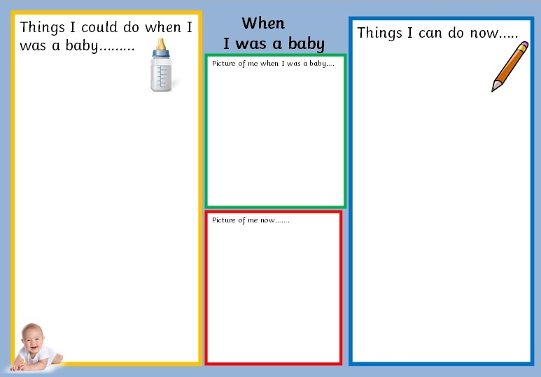 WHEN I WAS A BABY - PDF RECORDING SHEET