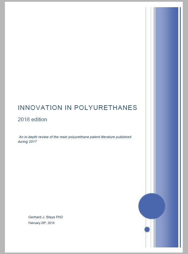 Innovation in Polyurethanes - 2018 edition