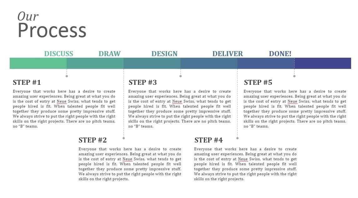 The Architectural Showcase Presentation template