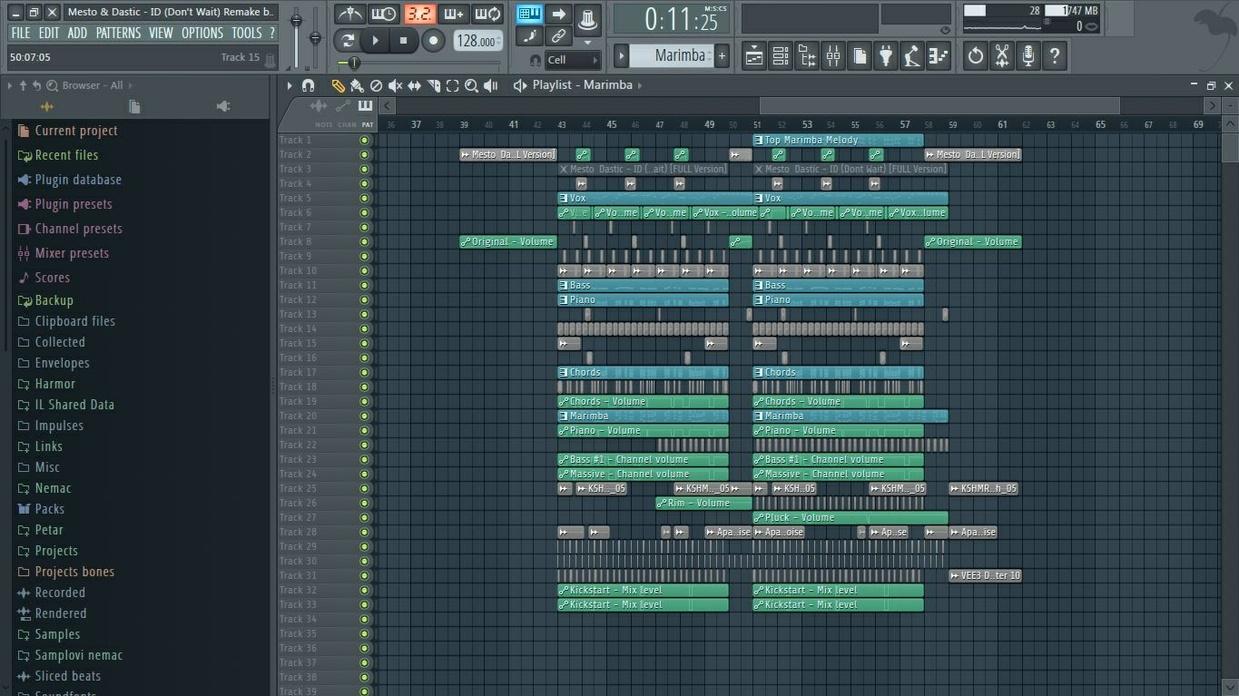 [FL Studio Remake] Mesto & Dastic - ID (Don't Wait) (+FLP)